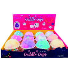 PELUCHES CUDDLE CUPS 12 UDS