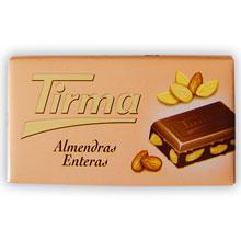 CHOC. ALMENDRA TIRMA 150 GRS
