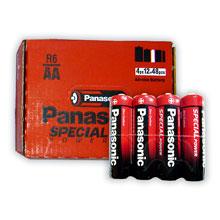 PILAS PANASONIC R6  12bl x 4uds