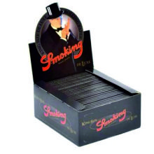 SMOKING DE LUXE NEGRO 100 UDS