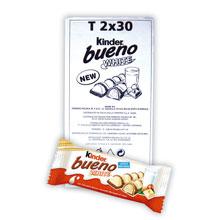 KINDER BUENO WHITE T.2 30 UDS
