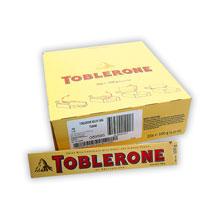 TOBLERONE CHOCOLATE 100 GRS 20 UDS