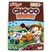 KELLOGS CHOCO KRISPIES 375 GRS
