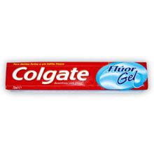 PASTA DIENTES COLGATE FLUOR GEL 75 ML