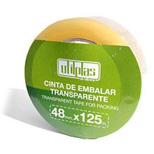 CINTA EMBALAR 125 MTRS UTILPLAS 1 UD