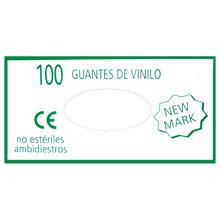 *GUANTES DE VINILO T/PEQUEÑA 100 UD