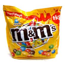 M & M CACAHUETE 1 KG