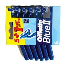 HOJILLAS GUILLETTE BLUE II 5+1