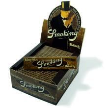 SMOKING KING SIZE BROWN 50 UDS