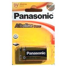 PILA PANASONIC 6LR61 (9V) 12BL X 1 UD