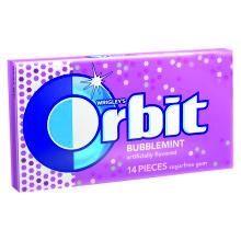 ORBIT BUBBLEMINT (SABOR CHICLE) 30 UDS