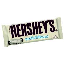 HERSHEY'S COOKIES 'N' CREME 43GRS 36 UDS