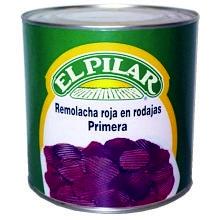 REMOLACHA EN RODAJAS EL PILAR 3 KG