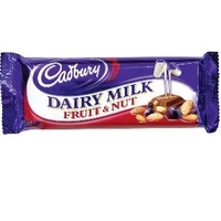 CADBURY FRUIT NUT 120 GRS