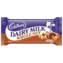 CADBURY WHOLE NUT 120 GRS