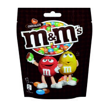 M & M POUCH CHOCOLATE 220 GRS
