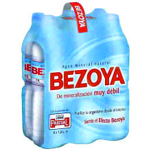 BEZOYA AGUA 1,5 L 6 UDS