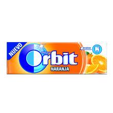 ORBIT NARANJA GRAGEAS 30 UDS