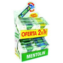 EXPOSITOR MENTOLIN 20GR 2x1€ 48 UDS