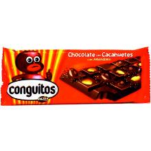 TABLETA CHOC C/CONGUITOS 110 GRS 1 UDS
