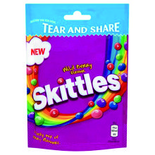 SKITTLES FRUTOS DEL BOSQUE POUCH 174 GRS
