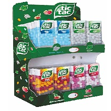 EXPOSITOR CARAMELOS TIC TAC 48 UDS