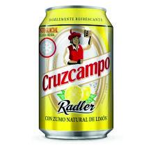 CERVEZA CRUZCAMPO RADLER LIMON 33CL 24U