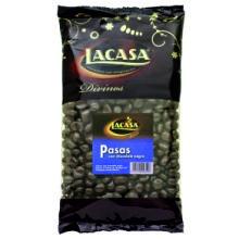 PASAS DE CORINTO CON CHOCOLATE 1 KG