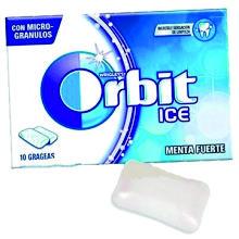 ORBIT ICE MENTA POLAR BLISTER 12U