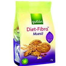 DIET FIBRA MUESLI GULLON 75 GRS 1 UD