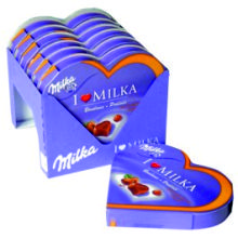 MILKA BOMBONES I LOVE PRALINE 50GR 6 UDS