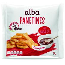 PANETINES S/GLUTEN BARBACOA ALBA 90G