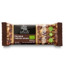 BARRITA ECO CACAO Y FRUTOS SECOS 25U