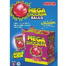 MEGA SHOCKER BALLS FRESA BANDEJA 150 UD