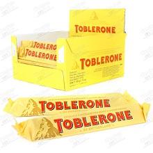 TOBLERONE CHOCOLATE 50 GRS 24 UDS