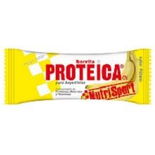 BARRITA NUTRISPORT PROTEICA PLÁTANO 24U