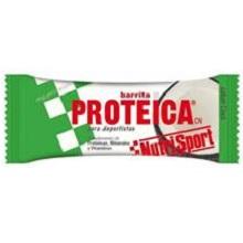 BARRITA NUTRISPORT PROTEICA COCO+CHO 24U