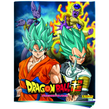 CARTON DRAGON BALL SUPER (ALBUM+4SOBRES)