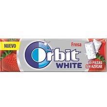 ORBIT WHITE OTC FRESA  30 UDS.