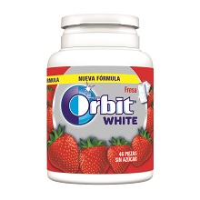 ORBIT WHITE BOTE FRESA 6 X 46 Uds