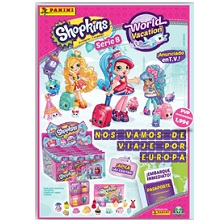 SOBRES 3D SHOPKINS WORLD VACATION 24UDS
