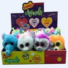 PELUCHES FUNNY ANIMALS 12U