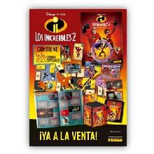 CARTON LOS INCREIBLES 2 (ALBUM+4S)