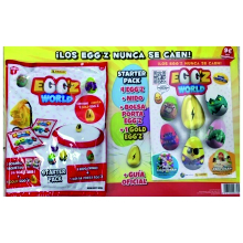 CARTON STARTER PACK EGG'Z WORLD 1U