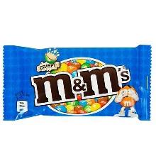 M & M CRISPY 36GR 24 UDS