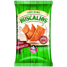 BUSCALIOS BBQ 140 GRS 12 UDS