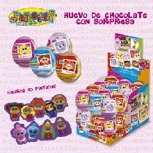 HUEVO CHOCOLATE DISTROLLER 24UDS