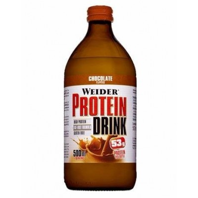 PROTEIN DRINK WEIDER CHOCO 500 ML 12 UDS