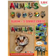 CARTON ANIMALES 2019 (ALBUM+5SOB) 1UD