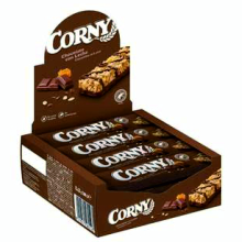 CORNY CHOCOLATE 25 GRS 12 UDS